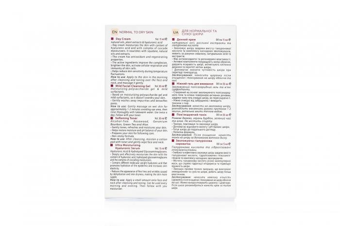 Набор Riwell Set 4 in 1 для норм / сухой кожи (RWS02)